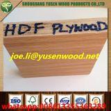 Venta caliente de la madera contrachapada de la melamina HDF en el mercado de Nigeria