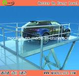 Levage hydraulique de véhicule de ciseaux de qualité avec la conformité de la CE