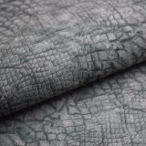 マットのワニの皮の表面人工的なPUの革、袋の革