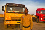 Caminhão de descarga 6*4 da movimentação FAW Camc do descarregador 4-Wheels do caminhão pesado