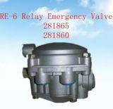 OEM no. 281860 281865 di Re-6 Relay Emergency Valve per Trailer Truck Parte