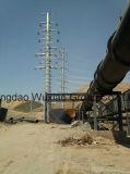 Distribution et transmission de puissance à haute tension Mât de monopole électrique