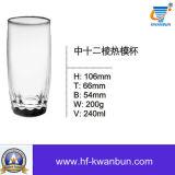 Cristalería clara Kb-Hn071 del vidrio de consumición de la taza del vidrio de agua