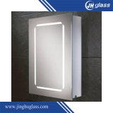Espelho de prata decorativo do diodo emissor de luz para o banheiro