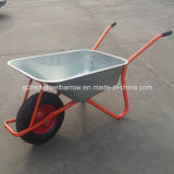 頑丈な構築の一輪車(WB6404H)