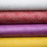 Linha de couro artificial couro decorativo Textured do plutônio do falso
