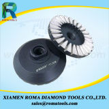 화강암을%s 알루미늄 터보의 Romatools 다이아몬드 컵 바퀴
