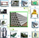 Palo elettrico concreto automatico standard che fanno macchina e Palo elettrico concreto modellare