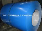 El color prepintado del material de construcción PPGI cubrió la bobina de acero prepintada Coil/PPGI del Galvalume laminado en caliente del acero de Aluzinc del Galvalume