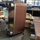 Type de plaque brasé par cuivre échangeur de chaleur pour le système réfrigérant de refroidissement par eau de Fréon