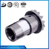 OEMはステンレス鋼の部品を機械で造るCNCの303/304/316のステンレス鋼のリングギヤをカスタマイズした