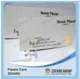 Schede di allievo del banco dello spazio in bianco RFID del chip del biglietto da visita di colore completo