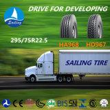 radial tout du camion 295/75r22.5 et du bus pneu en acier