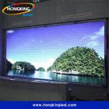 Visualización de LED a todo color de interior de alquiler de la pantalla caliente del LED