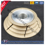 Glass를 위한 말초 V Shape Diamond Grinding Wheel