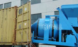 Topmac Brand Diesel Reverse Drum Mixer con Hydraulic Fed