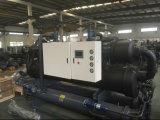Refrigerador de refrigeração do parafuso da baixa temperatura água industrial