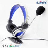 Профессиональный PC Headset USB Cheap Free Sample Earphones Security с Mic