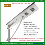 20W LED 운동 측정기를 가진 태양 통합 정원 빛