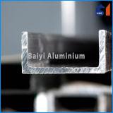 Het geanodiseerde Kanaal van het Profiel van U van het Aluminium/van het Aluminium