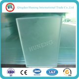 8mm Clear Acid Frosted Float Glass para Puerta de Vidrio