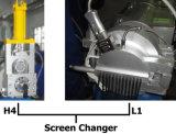 Pvc van twee Extruder schilfert de Granulator van het Recycling af