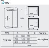 8mm/10mmガラスの厚さのシャワー機構かシャワーのキュービクル(Cvp031)
