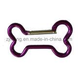 Тип крюки Carabiner косточки кнопки алюминия