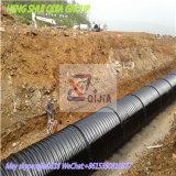 Dn900ホツプのすくいによって電流を通される鋼管