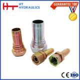 22241 45 gradi di Bsp dell'accoppiamento dell'acciaio inossidabile del montaggio di tubo flessibile idraulico idraulico femminile