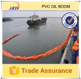 ColorおよびOil明るいResistant Solid Float PVC Oil Boom