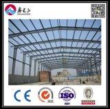 Gruppo di lavoro chiaro della struttura d'acciaio del magazzino della struttura d'acciaio