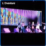 Arrendamento eletrônico interno para eventos, conferência da parede do diodo emissor de luz da cor cheia, partidos, vidas