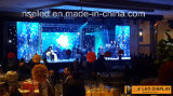 HD Publicidad etapa del club nocturno P4 LED Pantalla LED Display Panel
