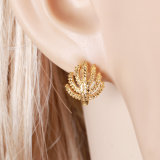 24k Gold Color Fashion Jewelry Earring (25658)