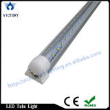 Luz de puerta más fresca de la forma de V que recorre LED, luz brillante estupenda del departamento del dispositivo ligero LED del tubo de la UL los 8FT 60W T8 LED