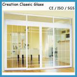 Laag Ijzer Aangemaakt Glas voor het Glas van de Deur/het Glas van de Bouw