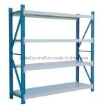 Shelving do armazenamento do armazém/cremalheira leve do dever/Shelving entalhado do ângulo
