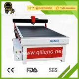 Produzione Ql-1224 del distintivo dell'iscrizione del piatto di colore che fa pubblicità al router di CNC