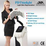 Bio-Lumière de PDT et machine de salon de beauté de soin de peau de vide