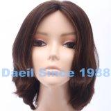 Las mujeres chinas del pelo de Remy ponen en cortocircuito la peluca ondulada con la tapa de respiración