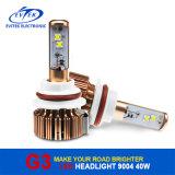2017 nécessaire automatique de phare du véhicule DEL de CREE du phare 40W 3600lm 9004/9007 H4 H13 H11 H7 9005 de vente chaude