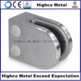 Morsetto di vetro dell'inferriata di vetro per la balaustra del corrimano dell'acciaio inossidabile