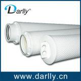 Membrana plisada alto flujo de la fibra de vidrio