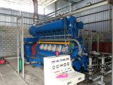 conjunto de generador inútil del petróleo de la pirolisis del neumático 1000kw