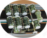 Массаж таблицы тюфяка Tourmaline и нефрита/китайская самая лучшая медицинская деревянная кровать массажа позвоночника