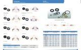 Compresores de aire de alta presión PTFE Stainess Acero Lip Oil Seals