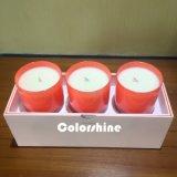 Коробка подарка упаковки бумаги свечки высокого качества Rectanagle пурпуровая