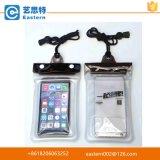 China Lieferant Günstige Werbe Schließung PVC wasserdichte Handy-Tasche