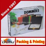 Dubbele Zes Domino's met Plastic Doos (431017)
